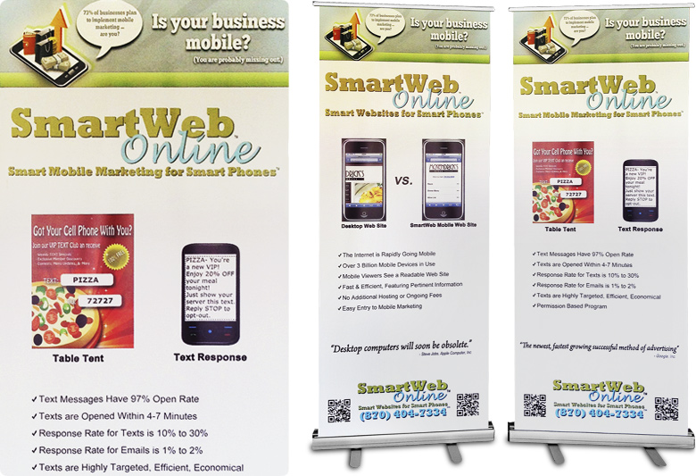 Supermark Signs' Banners and Tradeshow Graphics