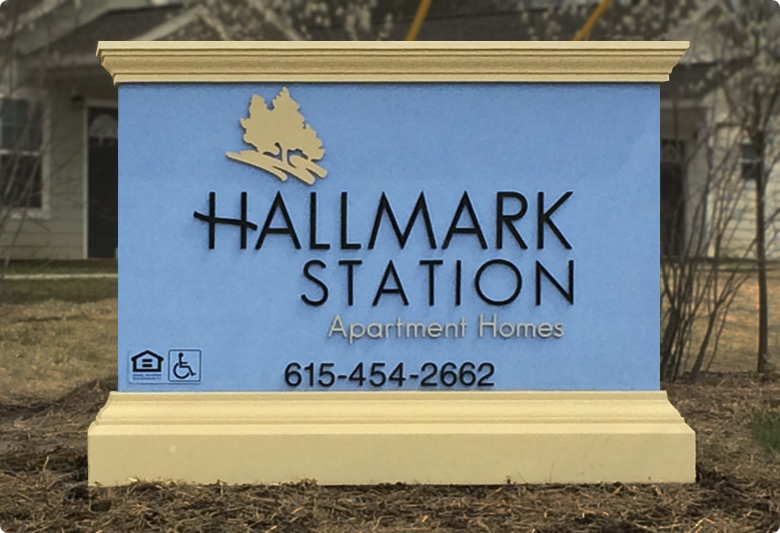 Supermark Signs' Outdoor Signage