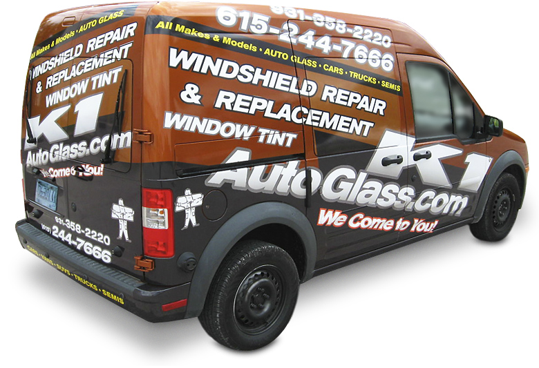 Supermark Signs' Vehicles Graphics